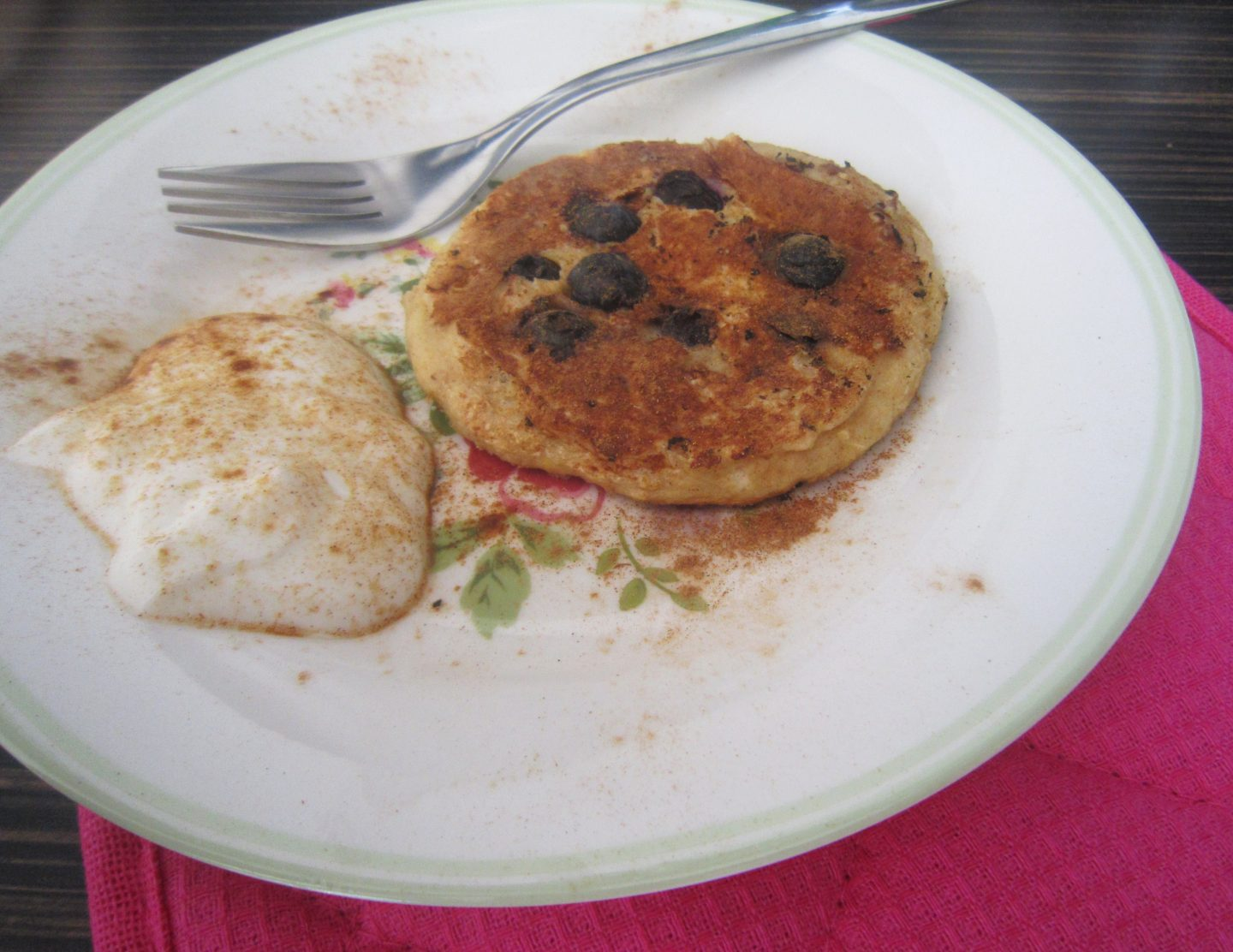 Oat & Blueberry Pancake Recipe