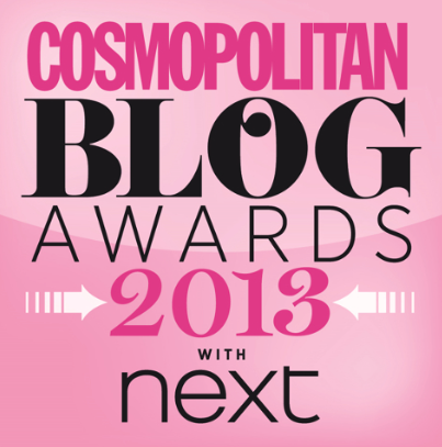 Cosmo Blog Awards 2013 Finalist