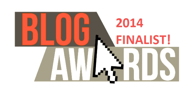#UK Blog Awards 2014 Finalist