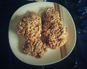 3 ingredient protein cookies