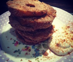 Apple Almond Rings
