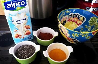 Chia Chocolate Ingredients