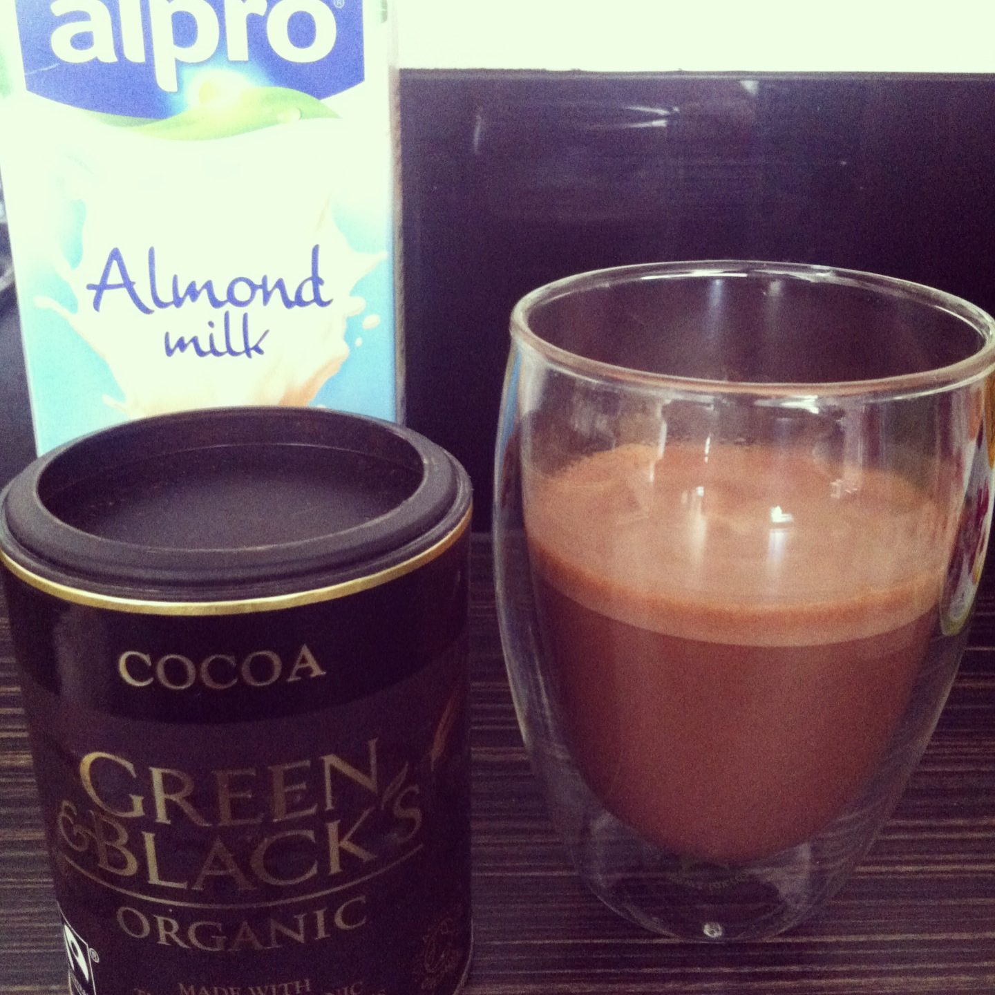 Skinny Chocolate Milk – Hot or Cold!