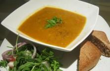 Lentil veg soup