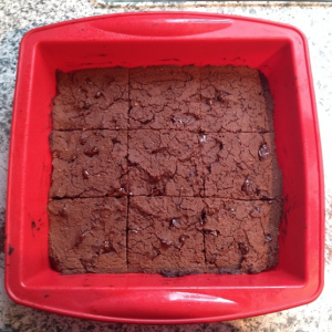 Chickpea protein brownies