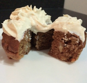 Protein Carrot Cake Muffins
