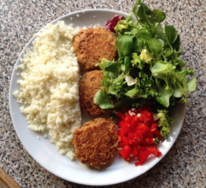 Healthy fishcakes