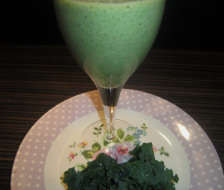 Post-Workout Kale Protein Smoothie