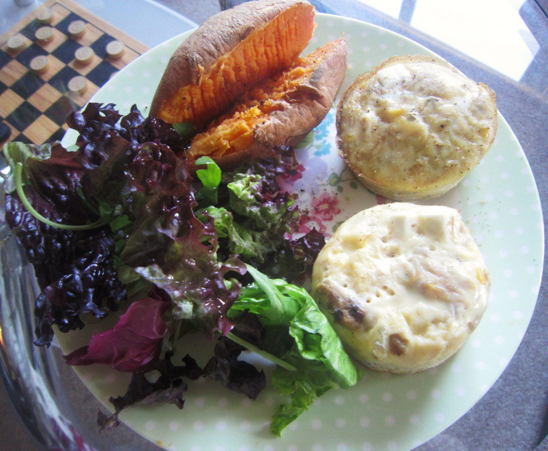 Tuna & Feta Frittata Recipe