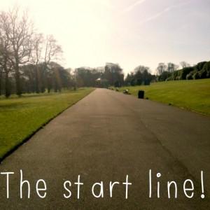 Park Run UK Start Line
