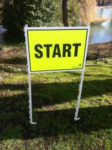 Park Run start