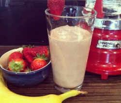 Strawberry Banana Protein Shake