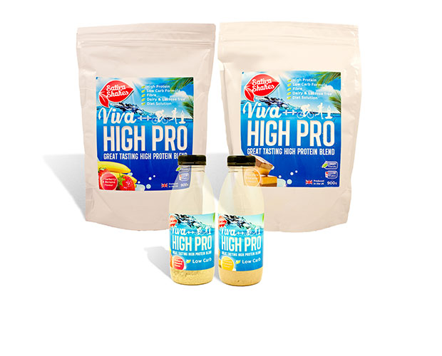 Viva High Protein & Sativa Vegan Shake Review & Discount Code!