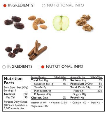 lara bar ingredients