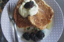 Lemon quark pancake