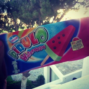 Holiday Low Calorie Ice-Lolly