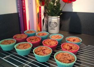 Oat & Strawberry Muffins