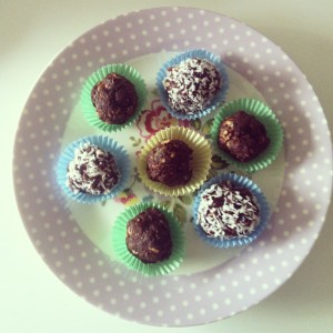 No Bake Truffles