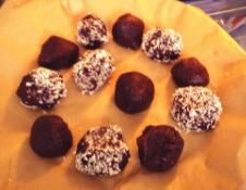healthy no bake truffles