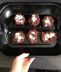 chocolate bean cookies