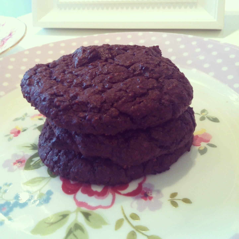 Chocolate Black Bean Cookies