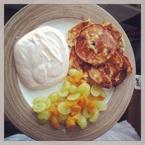 Yoghurt Protein Pancakes
