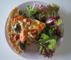 Brown Rice Quiche