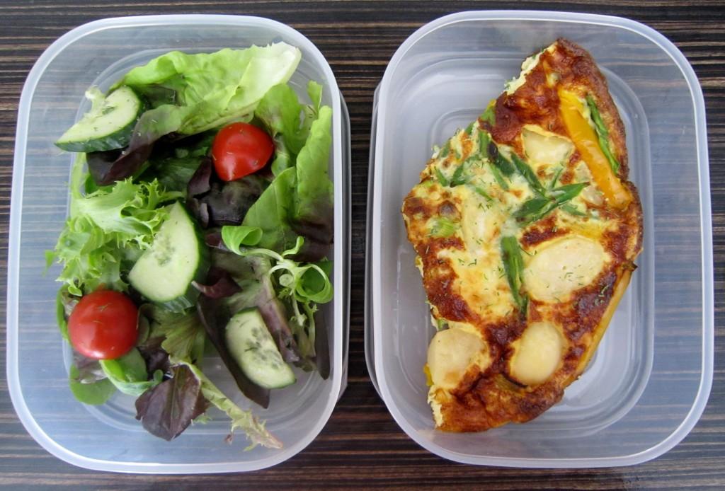 omelette for lunch