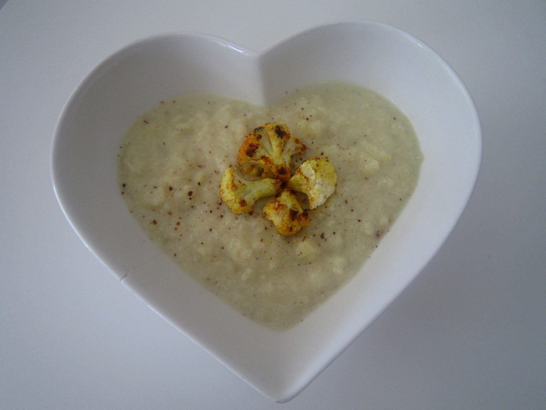 Dairy Free Creamy Cauliflower Soup