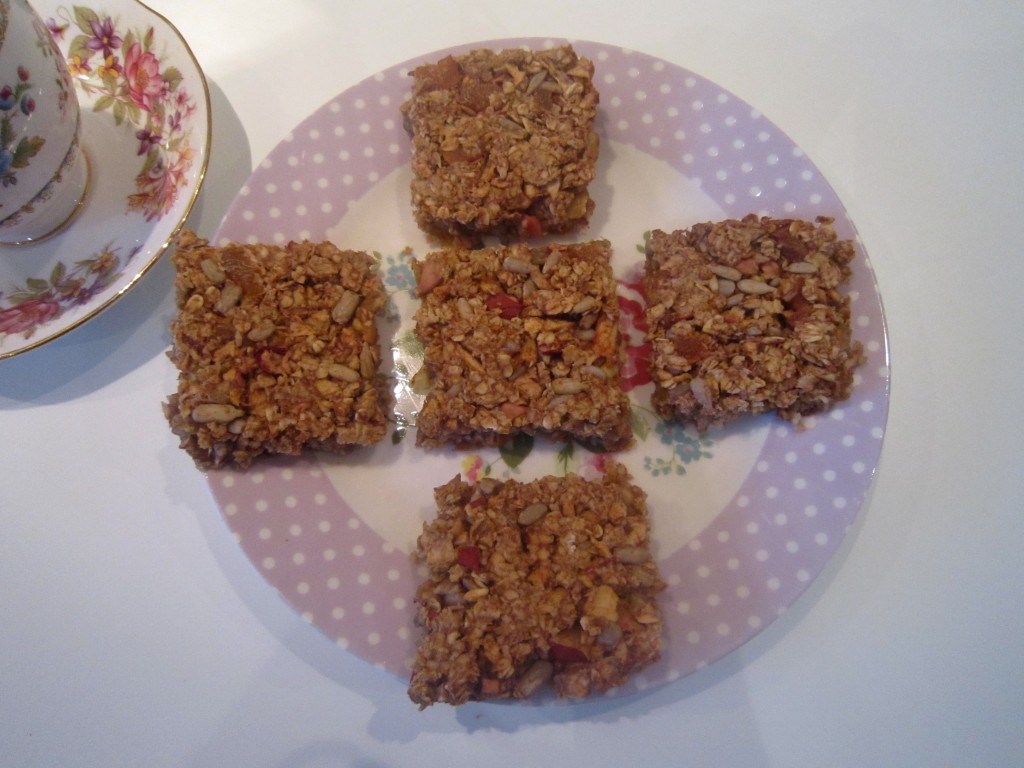 Oat and Apple Bars