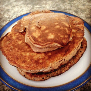 2 ingredient protein panckaes