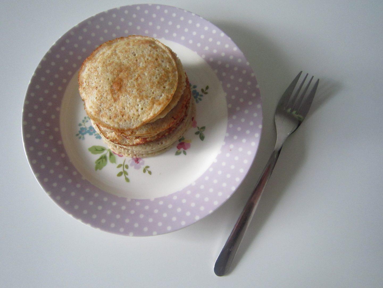 2 Ingredient Pancakes (gluten free & dairy free!)