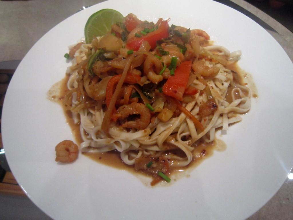 Healthy oriental stir fry