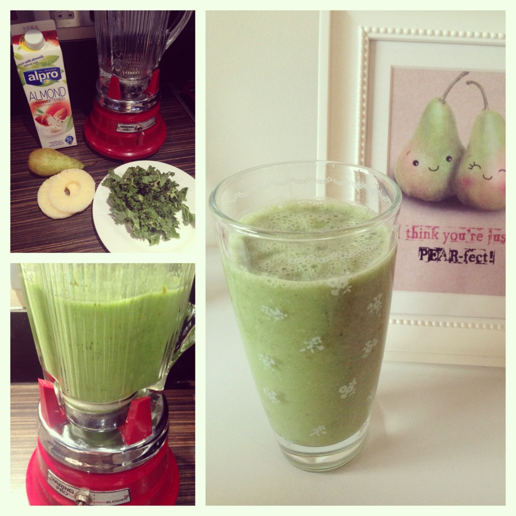Pineapple & Kale Smoothie