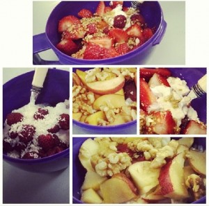 healthy yoghurt toppings