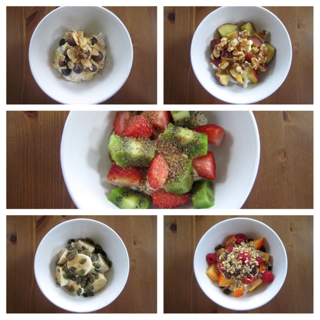 Healthy Toppings for Greek Yoghurt