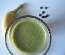 Mint Chocolate Protein Smoothie