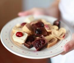 Healthy chocolate frozen bites!
