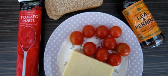 Healthy cheese on toast