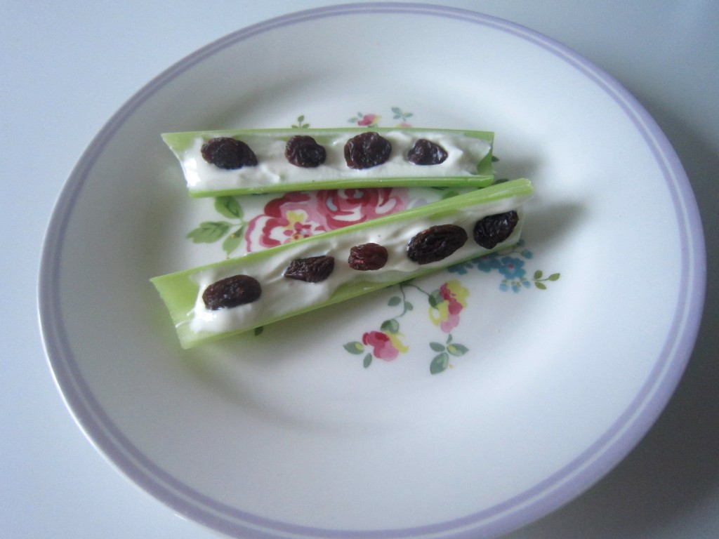 Ants On A Log 3 Ways Healthy Snack Idea Nics Nutrition