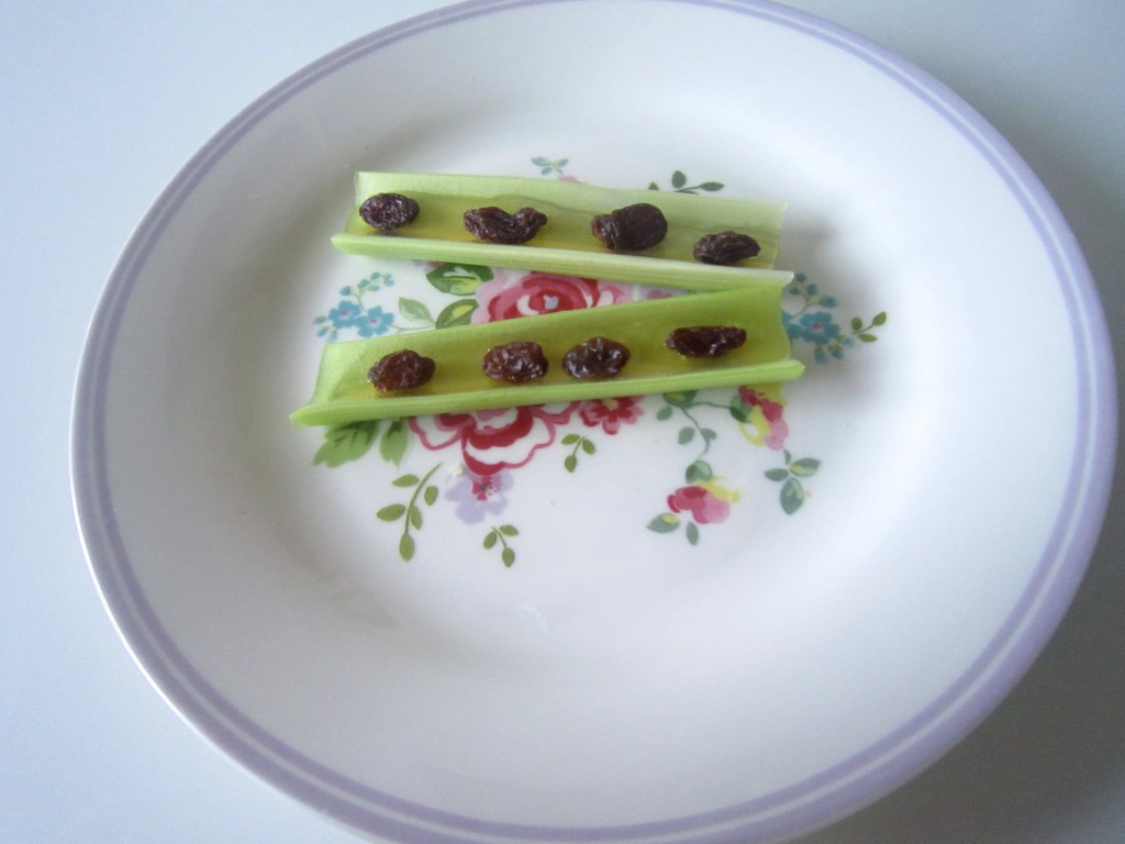 celery with honey