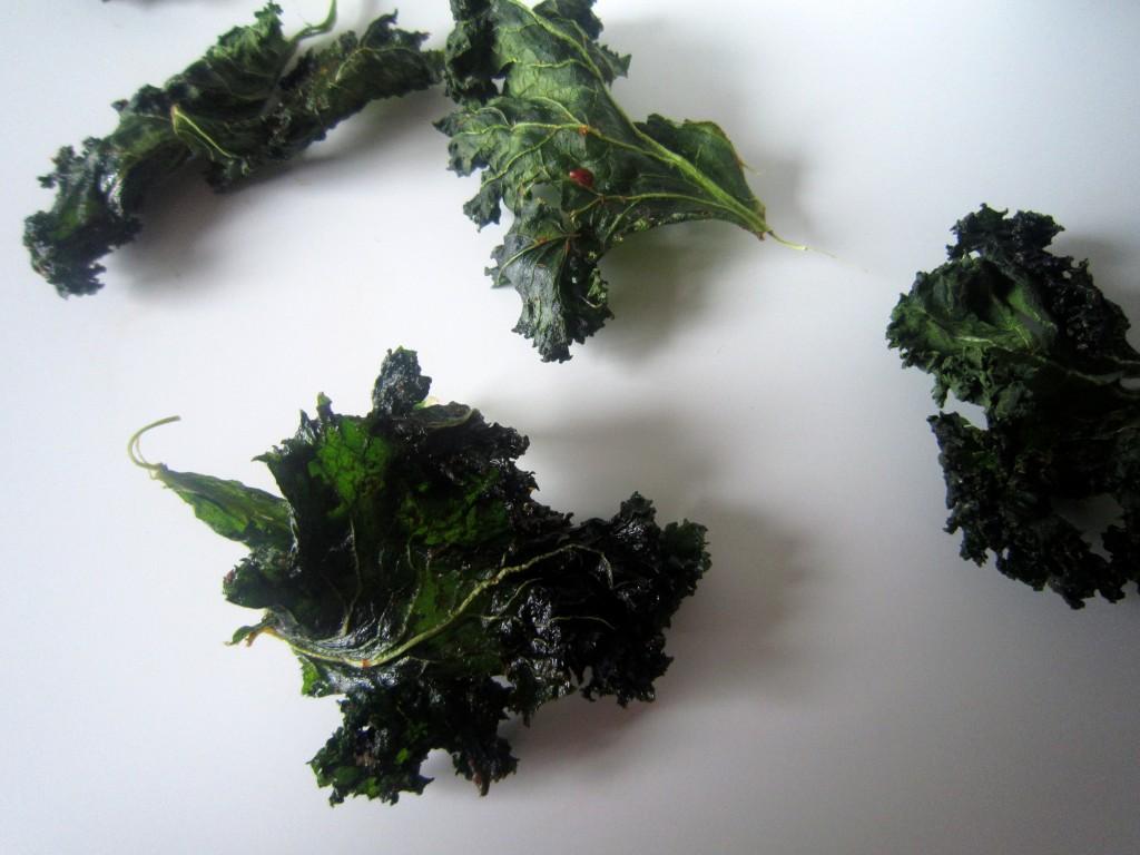 dehydrated kale crisps