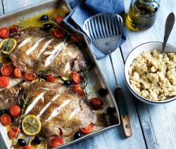 roasted-lemon-sole-with-butter-bean-mash