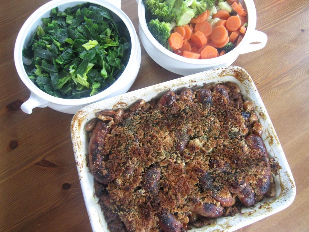 healthy sausage casserole