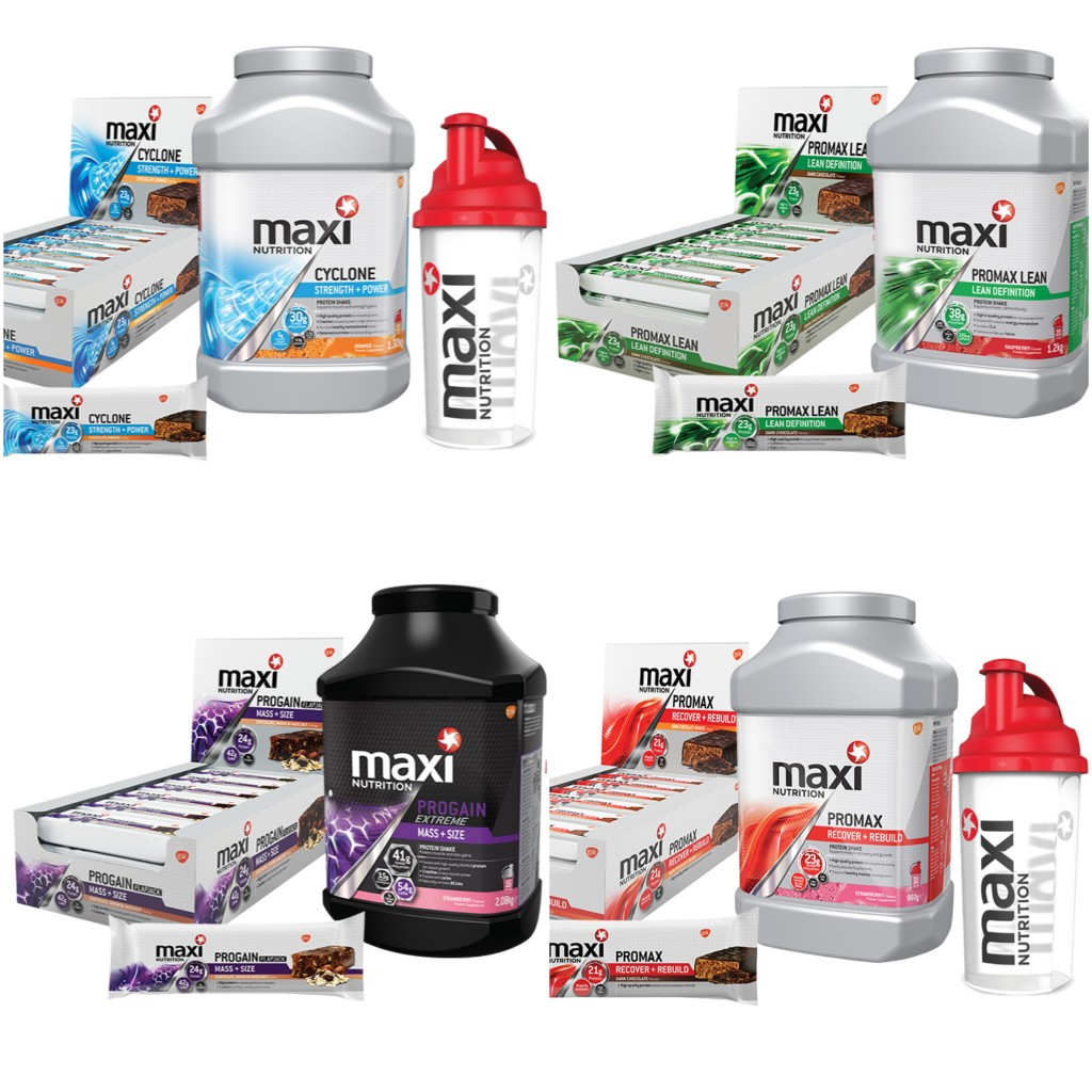 MaxiNutrition Giveaway