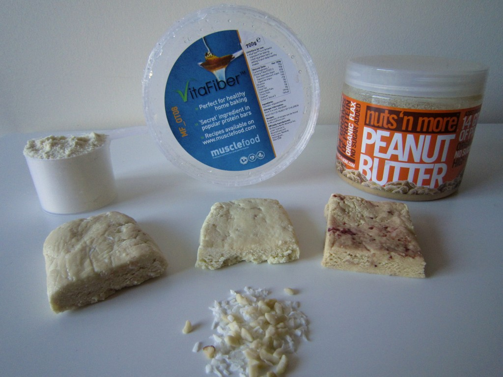 White Chocolate Protein & Coconut | Cookies & Cream with Nuts | Vanilla Protein with PB & Jam!