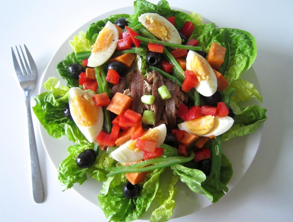 Skinny Tuna Salad Nicoise