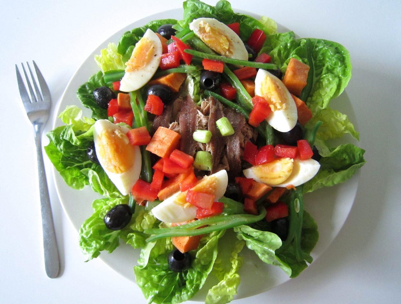 Skinny Salad Niçoise Recipe