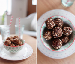 Nutty Balls and Protein Balls