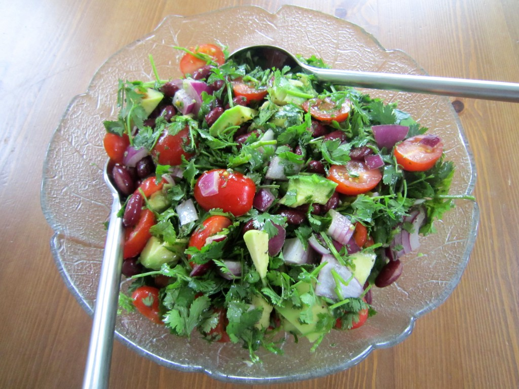 Avocado Coriander Salad